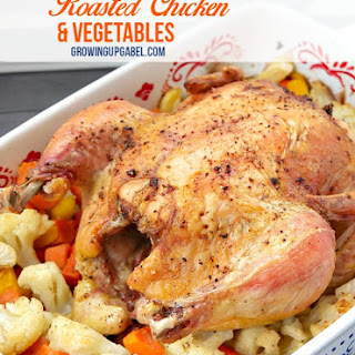 One Pan Baked Chicken with Vegetables