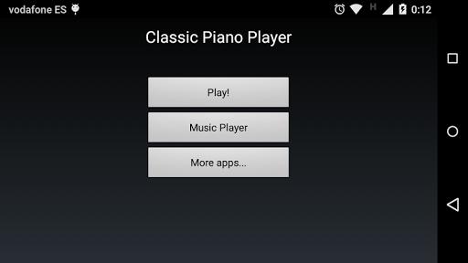 Classic Piano Player