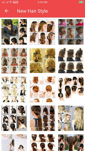 Girls Hairstyle Step by Step  screenshots 12