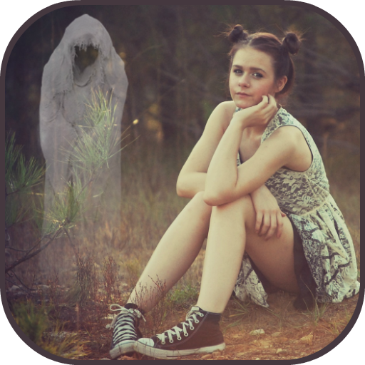 Ghost Camera Prank: Real Scary in Photo App Icon