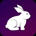 Rabbit VPN - Fast Hotspot & Unlimited Secure Proxy icon