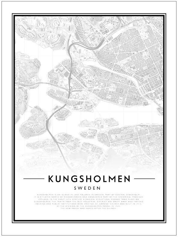 CITY MAP - KUNGSHOLMEN