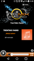 Screenshot of TrenTMix Radio