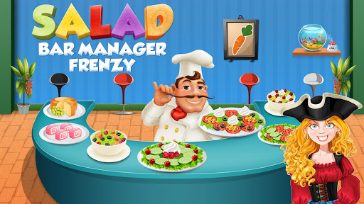 Salad Bar Manager Frenzy: Food Cafe Manager 1.0.5 screenshots 1