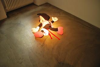 "Photo: Deschler Galerie: Patricia Waller Broken Heroes ""Minnie Mouse"""