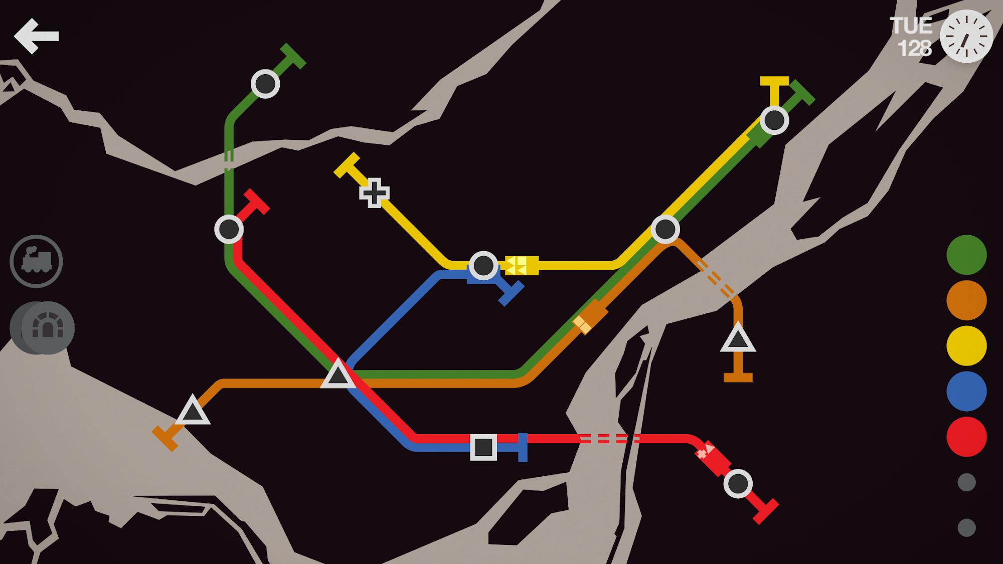 Mini Metro screenshot #10