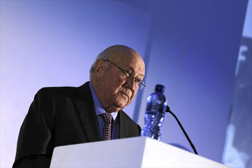 Five quotes from controversial FW de Klerk interview