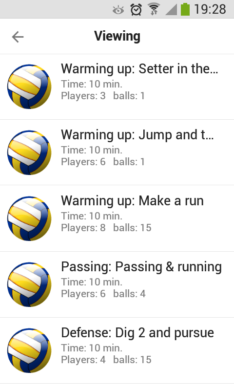 Volleyball Playview- screenshot
