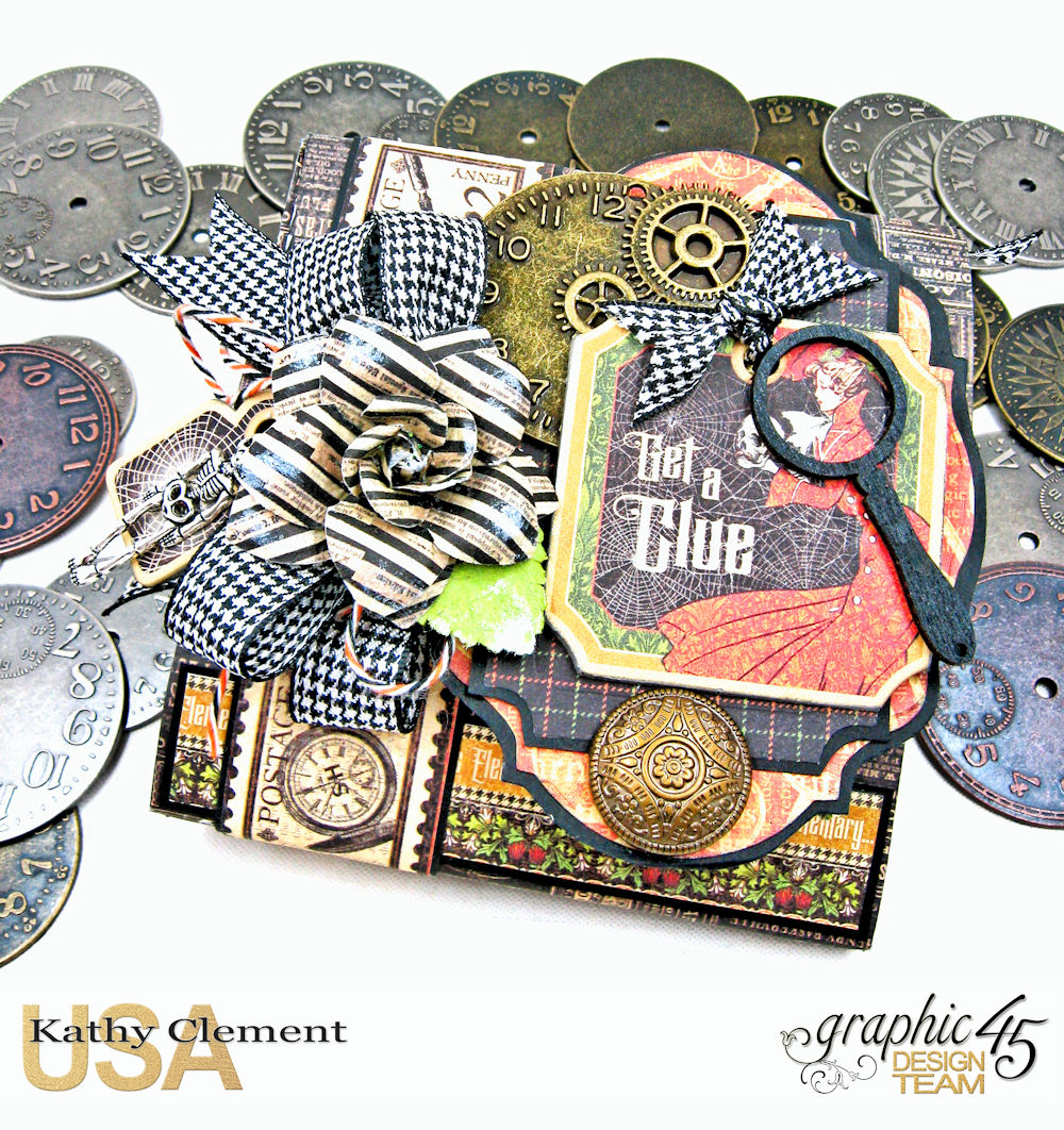 Master Detective, Kathy Clement, Graphic 45, Wallet, Cover.jpg