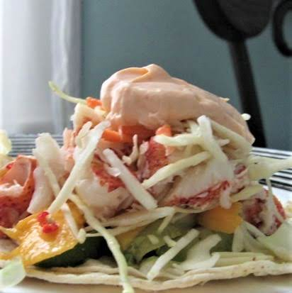 My New Favorite Taco - Lobster Paradise