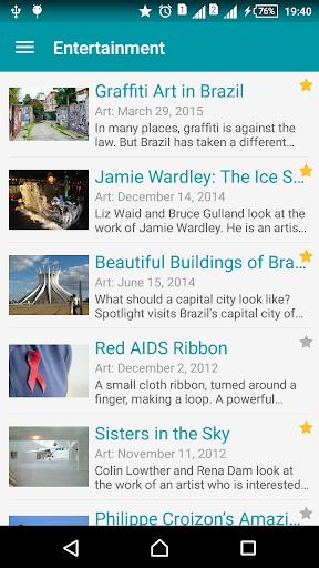 English listening daily 1.1.4 screenshots 2