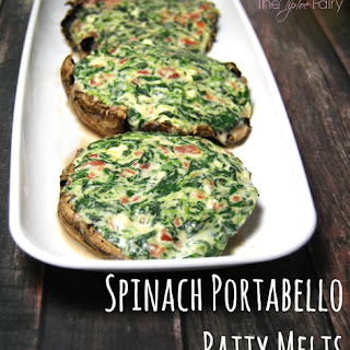 Spinach Portabella Patty Melts
