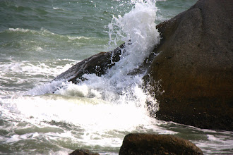Photo: Year 2 Day 19 - Rough Sea and Rock Formations at Ca Na #2