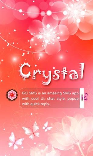 GO SMS PRO CRYSTAL THEME