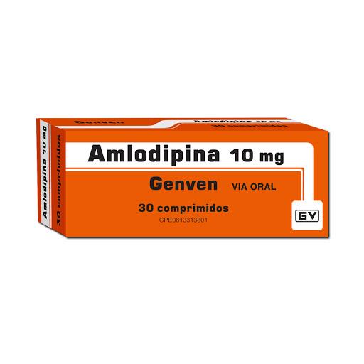 Amlodipina Genven 10 mg x 30 Comprimidos