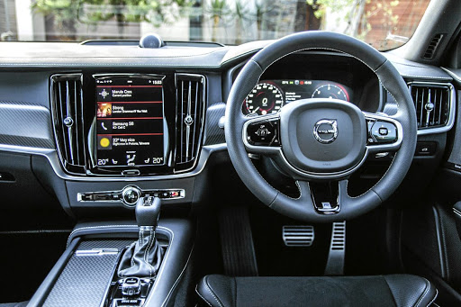 The interior gets R-Design seats, steering wheel, gear lever and pedals. Picture: QUICKPIC