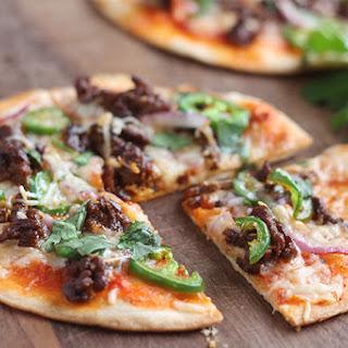 Spicy Chorizo Tortilla Pizza