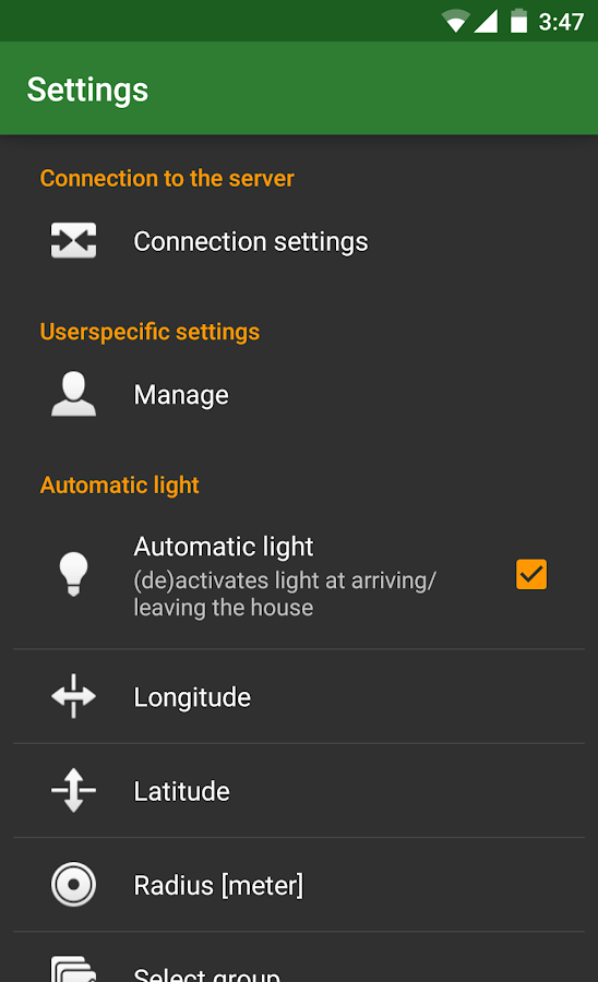 RC Plugs - Home Automation- screenshot