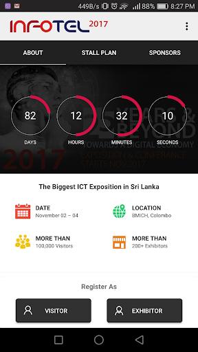 INFOTEL 2017 - ICT Exhibition Screenshot