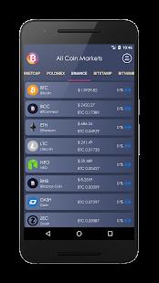 Bitcoin Watcher - náhled