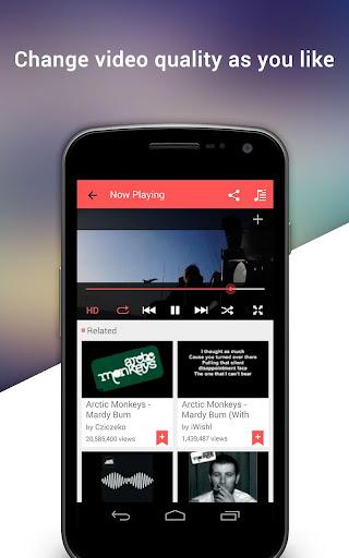 MusicSaga - Music Video Player