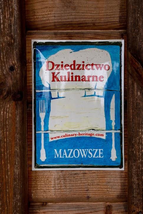 Dziedzictwo Kulinarne Mazowsze, tablica