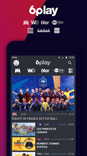 6play, TV en direct et replay 4.12.2 app download 1