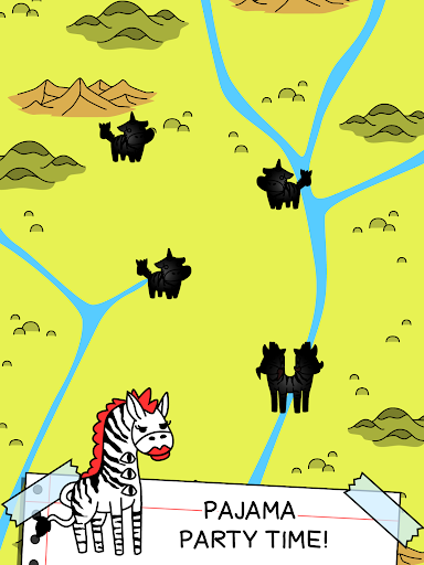 Zebra Evolution - Mutant Zebra Savanna Game - screenshot