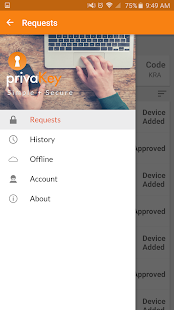 privaKey (old)- screenshot thumbnail