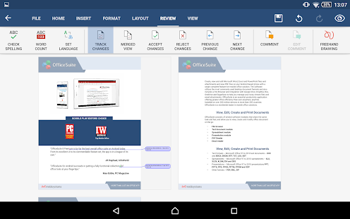 OfficeSuite 8 + PDF Editor - screenshot thumbnail
