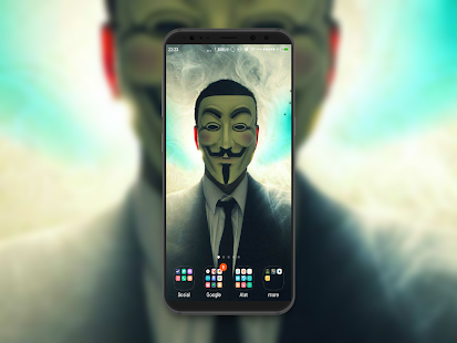 Anonymous Wallpaper - náhled