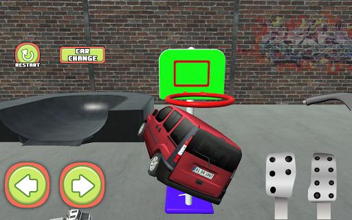 Minivan Basketball Show Game