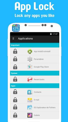 程序锁 - 应用程序保护器