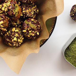 Grain-Free Mini Matcha Muffins