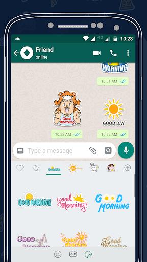 Morning Sticker For Whatsapp 2.0 screenshots 2