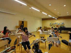 Photo: 練習風景2