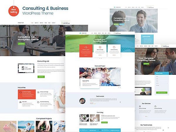 Consulting WordPress Theme Consult Aid