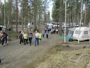 Photo: Liittiokokouksen aattona lauantaina esittelimme Hietajärveä noin 130:lle kokousvieraalle.