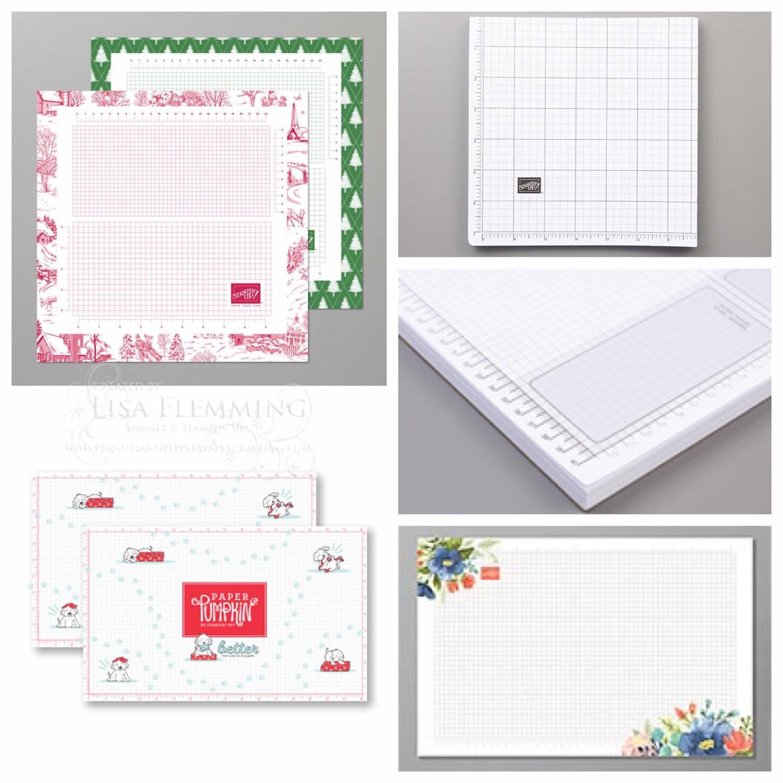 Stampin' Up! Grid Paper