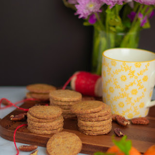 The Coconut Sugar Pecan Shortbread Cookie.