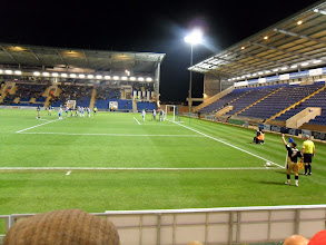 Photo: 23/11/10 v Brentford (Football League Division 1) 0-2 - contributed by Pete Collins