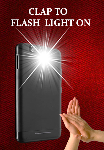 Flashlight on Clap screenshot