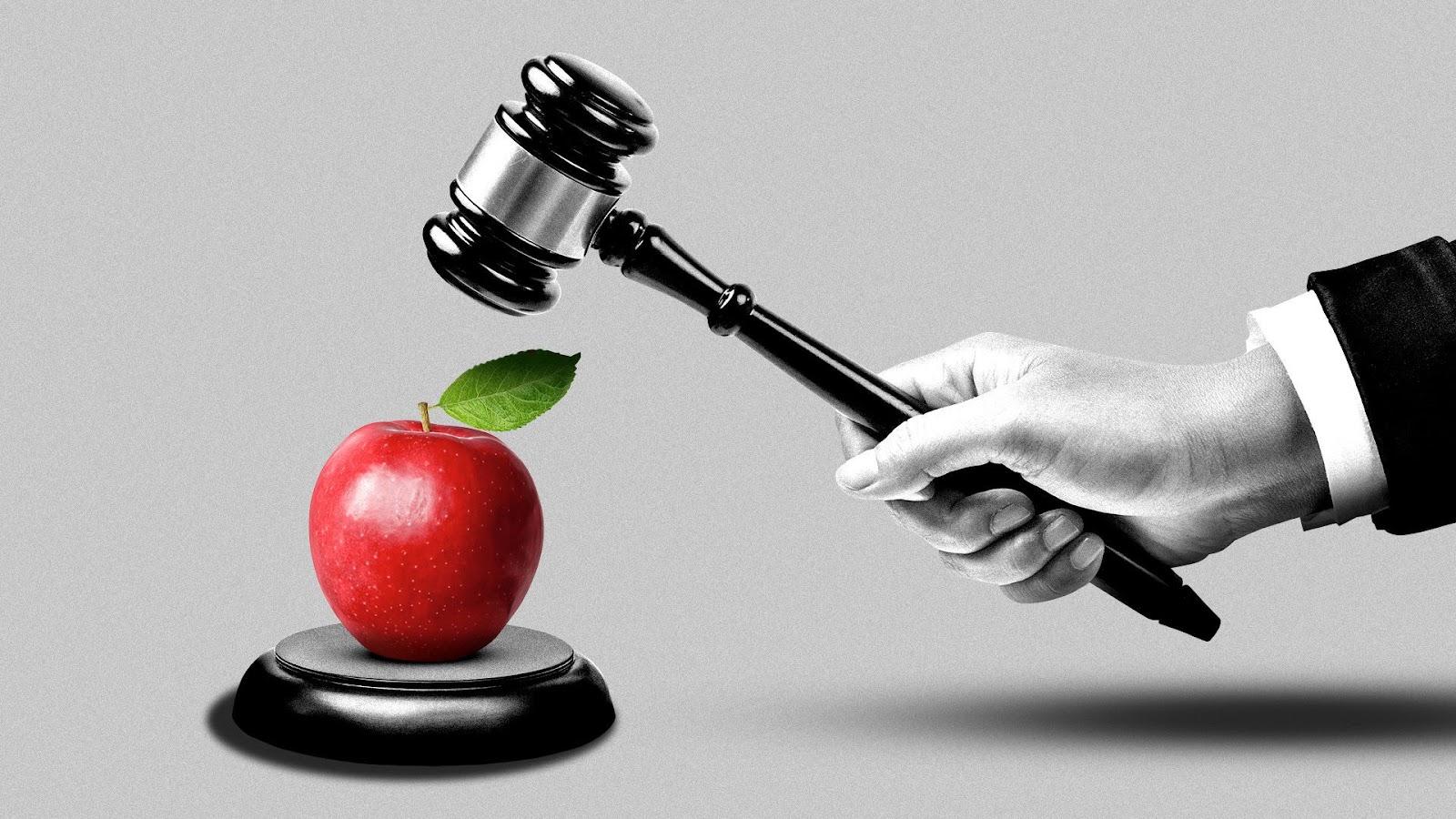 Apple's antitrust fight turns Epic - Axios