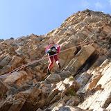 Fotos da escalada da vía Ravier no Tozal del Mallo