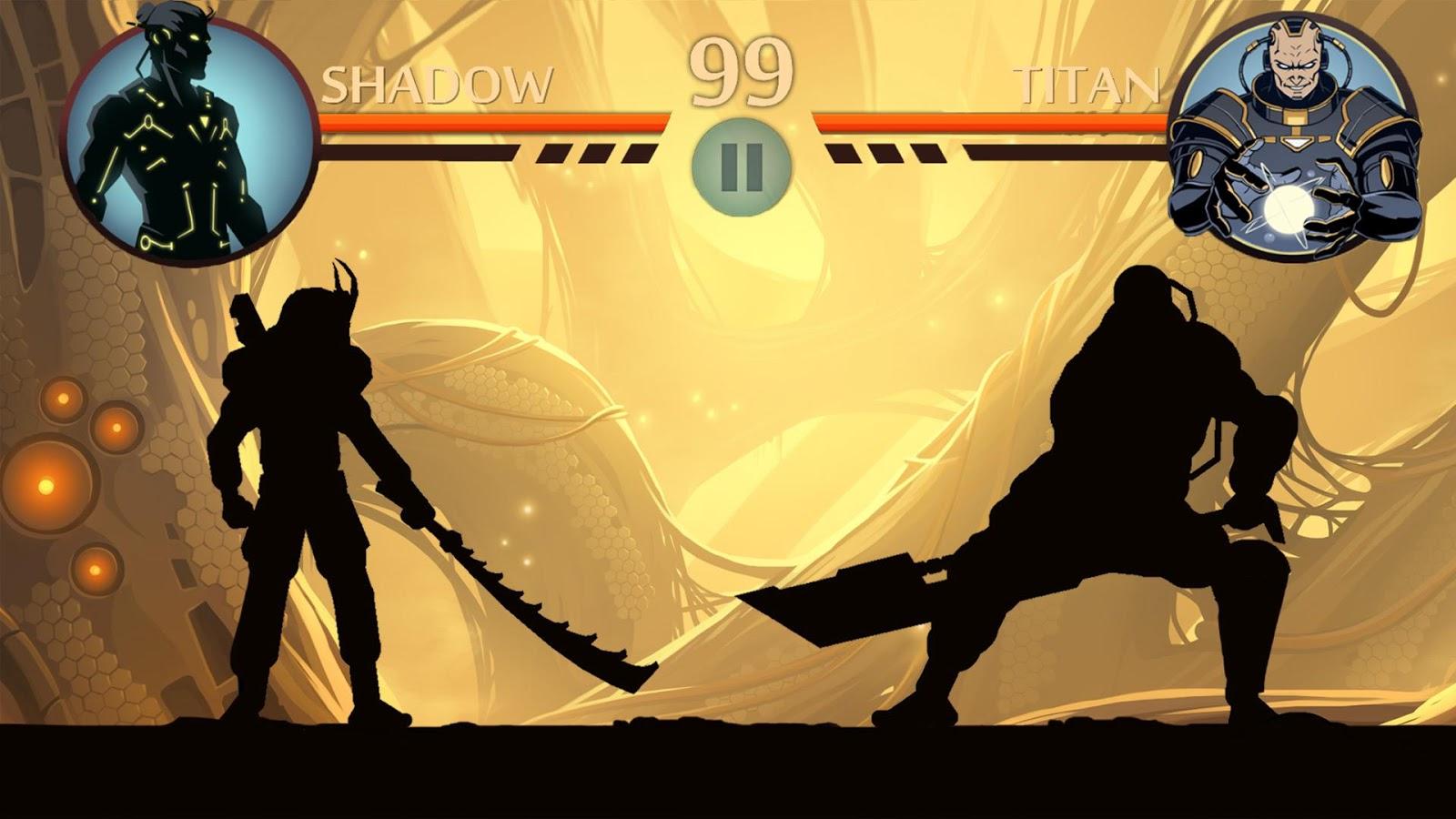 اللعبة الرائعة Shadow Fight 2 مهكرة للاندرويد