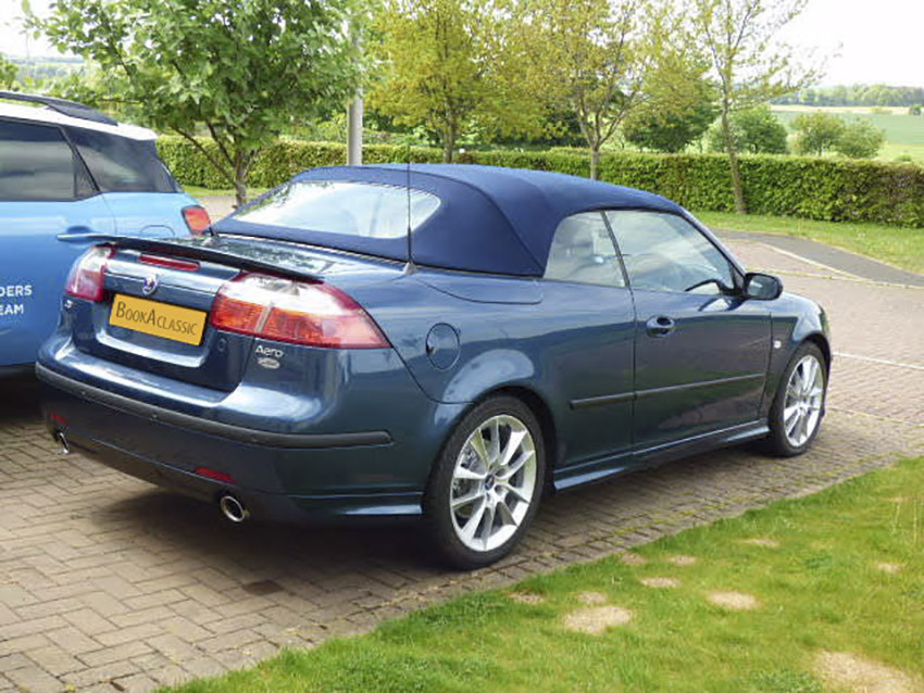 Saab 9-3 2.8 Convertible Hire Edinburgh
