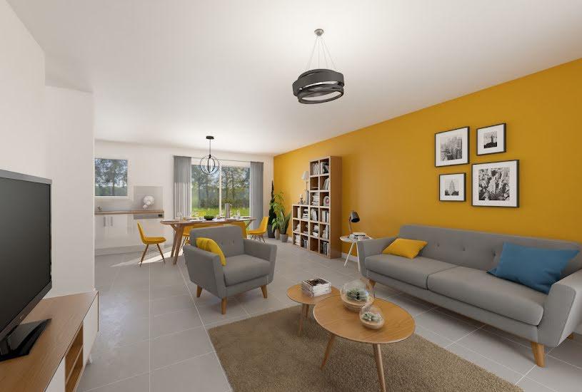 Vente Terrain + Maison - Terrain : 445m² - Maison : 76m² à Nozay (44170)