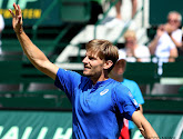 Roger Federer wacht op David Goffin in finale Halle