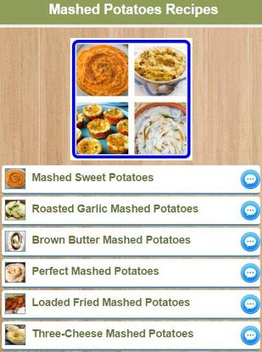 Mashed Potatoes Recipes 2.0 screenshots 1