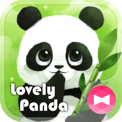 Cute Wallpaper Lovely Panda Theme Icon